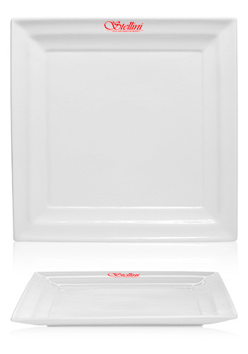 12 in. Square Dinner Plates | DW15