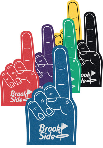 Promotional 12 Inch Number 1 Foam Hands