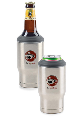 Promotional 12 oz Aviana Alpine Double Wall Stainless Coolers