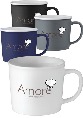 Promotional 12 oz. Axle Ceramic Mugs