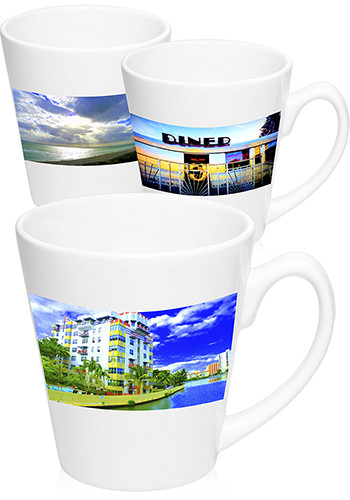 12 oz Latte Photo Mugs