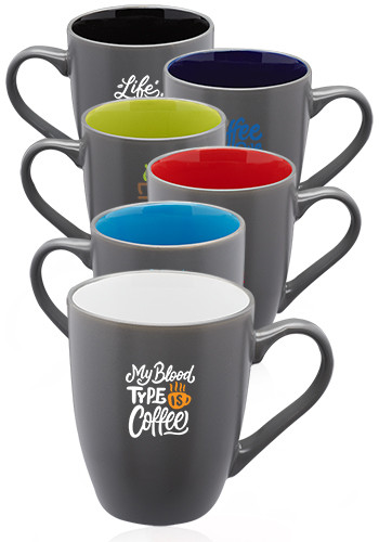Two-Toned Coffee Mugs