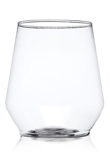 12 oz.Stemless Plastic Wine Glasses | RESSGL12