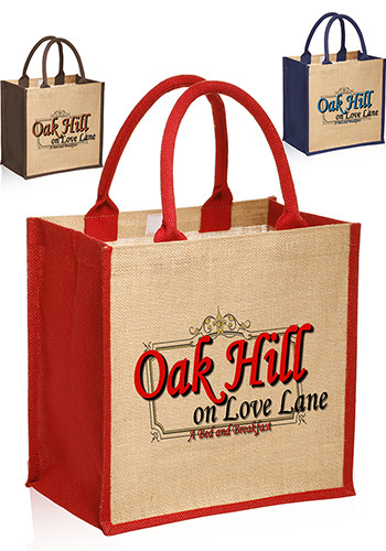 Promotional Stylish Rope Handle Jute Bags