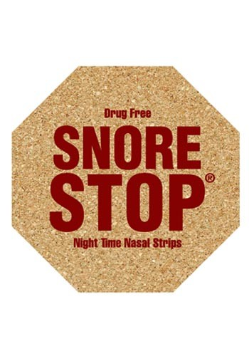 4.5 inch King Size Cork Stop Sign Coasters | AM5XSS