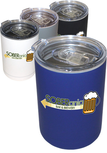 Promotional 12oz. Full Color Halcyon Tumbler Can Coolers