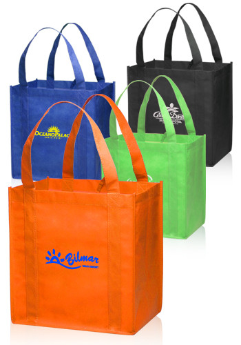 Custom Reusable Bags - Shopping & Grocery Bags | DiscountMugs