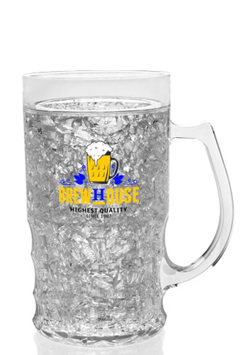 Acrylic Freezer Beer Mugs