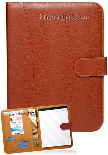 95b9ab569713 Personalized Leather Portfolios with Pockets