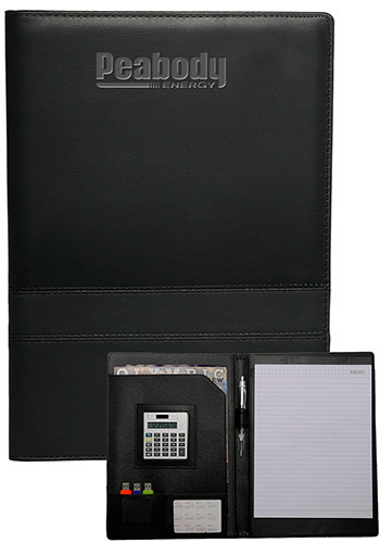 Wholesale Double Stitched Leatherette Padfolios