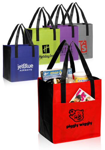 Custom Shopping and Grocery, Reusable Tote Bags | Discount Mugs
