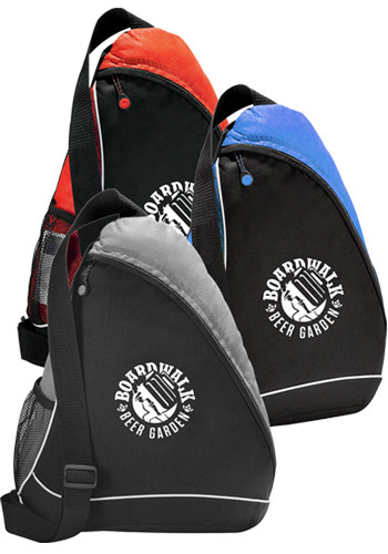 Promotional Sling Shot Sling Backpacks