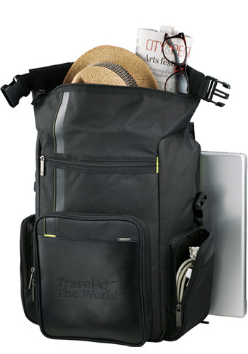 Recycled Deluxe Compu-Backpacks | LE300801