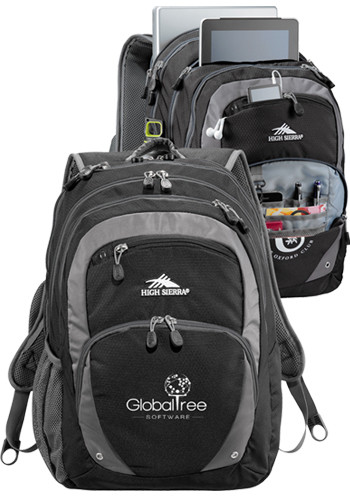 High Sierra Overtime Fly-By Compu-Backpacks | LE805187