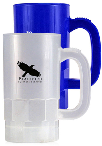 Custom 14 oz. Plastic Beer Steins