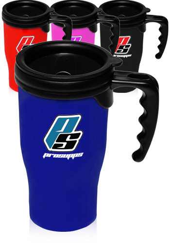 Personalized 14 oz. Plastic Insulated Travel Mugs