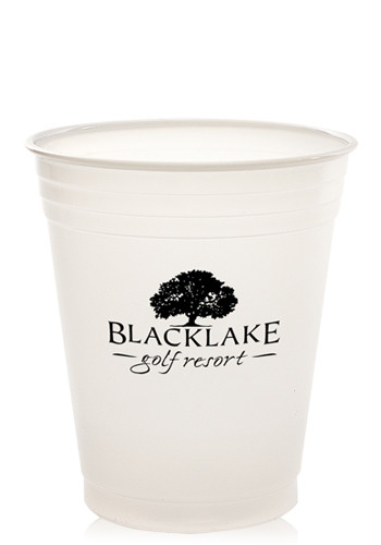 14 oz. Translucent Soft Sided Plastic Cups | TSXLT14
