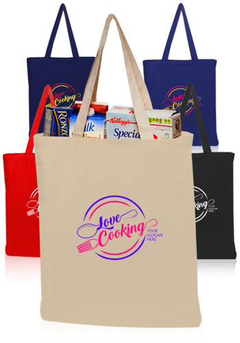 Custom Cotton Totes & Bags | DiscountMugs