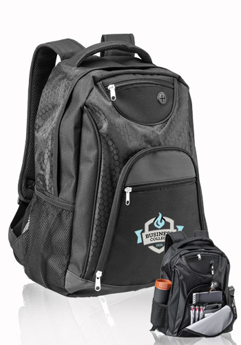 Customized 14W x 18H The Ultimate Transit Backpacks