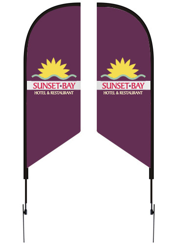 Flag Kits with Double Sided Imprint