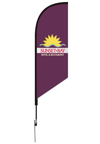15 Ft Flag Kits with Poles and Ground Stake | VUFFLAG15KIT