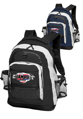 Customized Two Tone Travelers Backpacks