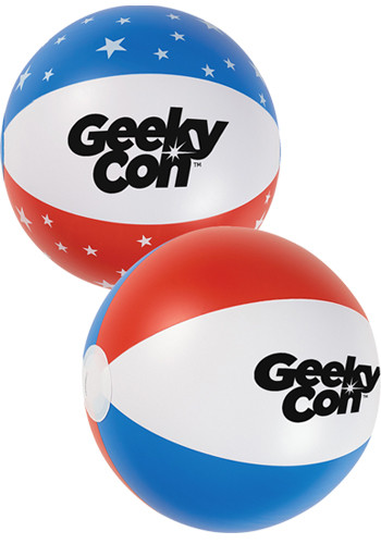 Personalized 16 Inch USA Beach Balls
