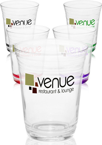 Clear Glass Pint Cups