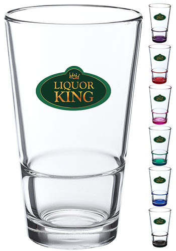 Customized 16 oz. ARC Stackable Pint Glasses
