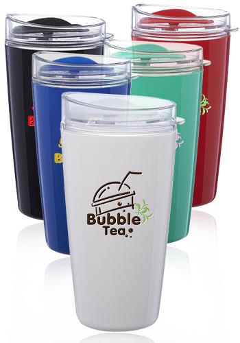 16 oz. Verano Plastic Coffee Tumblers | PG250