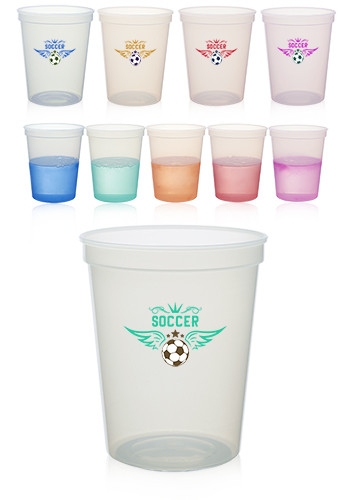 Color Changing Mood Stadium Cups