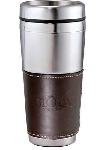 16 oz. Cutter & Buck® American Classic Leather Tumblers | LE985034