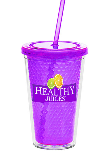 16 oz. Double Wall Freedom Facet Tumbler