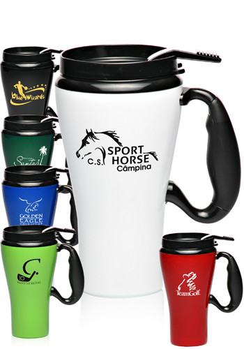 16 oz GT Travel Mugs with Spill Resistant Lid