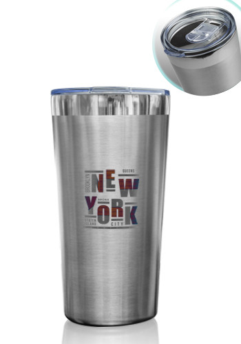 16 oz. Hakatan Stainless Steel Travel Mugs | TM347