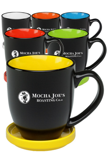 Two-Tone Ceramic Mugs