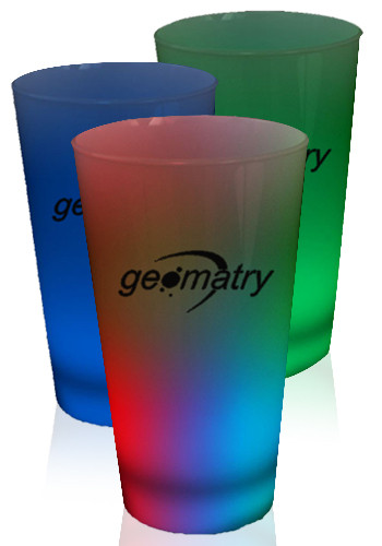 Light Up Pint Glasses