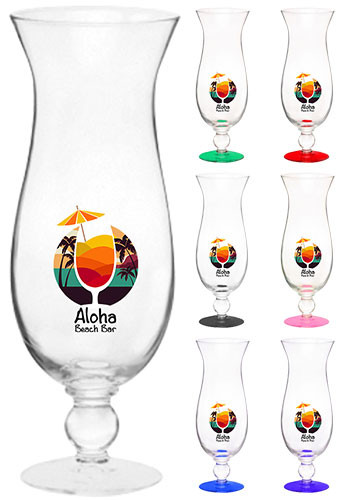 Customized 16 oz. Libbey Hurricane Glasses