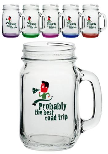 Custom Mason Jars Personalized With Your Logo In Bulk