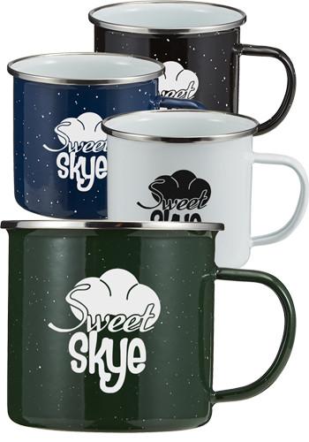 16 oz. Speckle-It Camping Mugs | EM4705