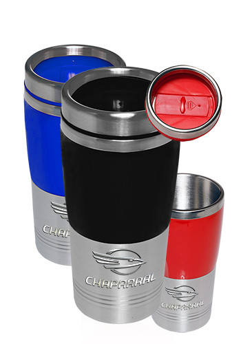Stainless Steel and Plastic Tumbler