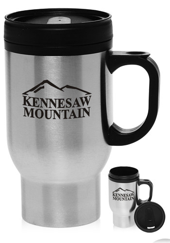 Wholesale 16 oz. Stainless Steel Travel Mugs