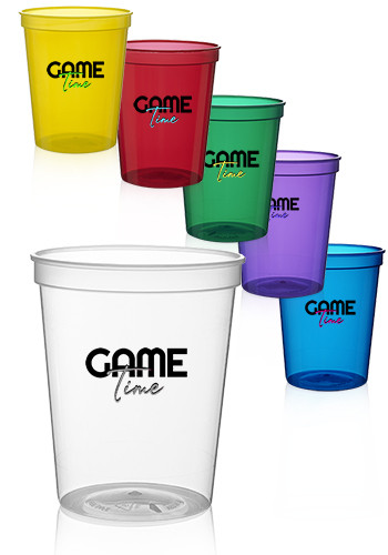 Translucent Plastic Stadium Cups