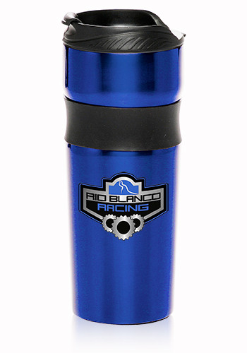 16oz. Grip Stainless Steel Engraved Travel Mugs