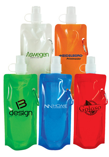 Personalized 16 oz. Latitude Flat Bottles