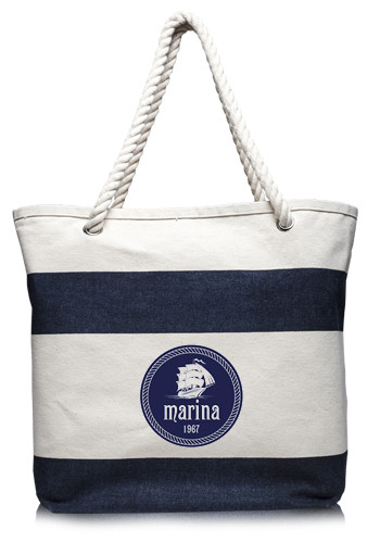 Personalized Canvas Tote Bags | DiscountMugs