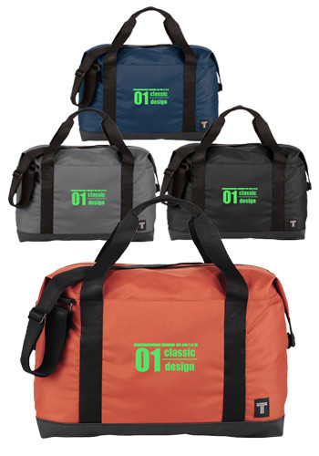 Customized 17 inch Tranzip Day Duffle Bags