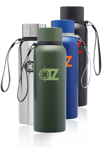 17 oz. Ransom Water Bottles with Strap | WB334
