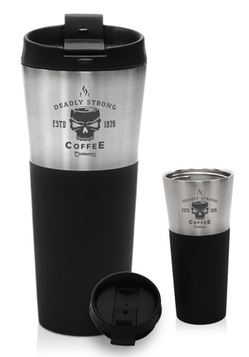 Personalized 17 Oz Stainless Steel Double Wall Tumblers