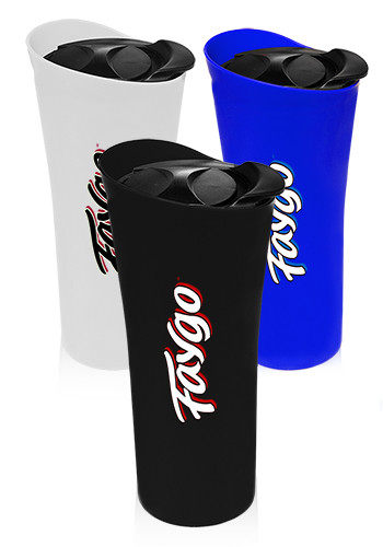 Custom 18 oz. Double Wall Plastic Insulated Tumblers